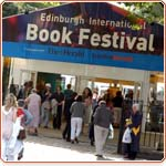 Book Festival ticket tent