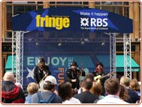 Royal Mile stage